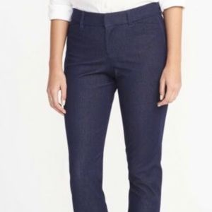 Old navy denim pixie pants NWT ast  sizes ankle